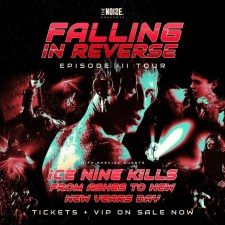 ICE NINE KILLS  ON TOUR WITH FALLING IN REVERSE APRIL 20 – MAY 24