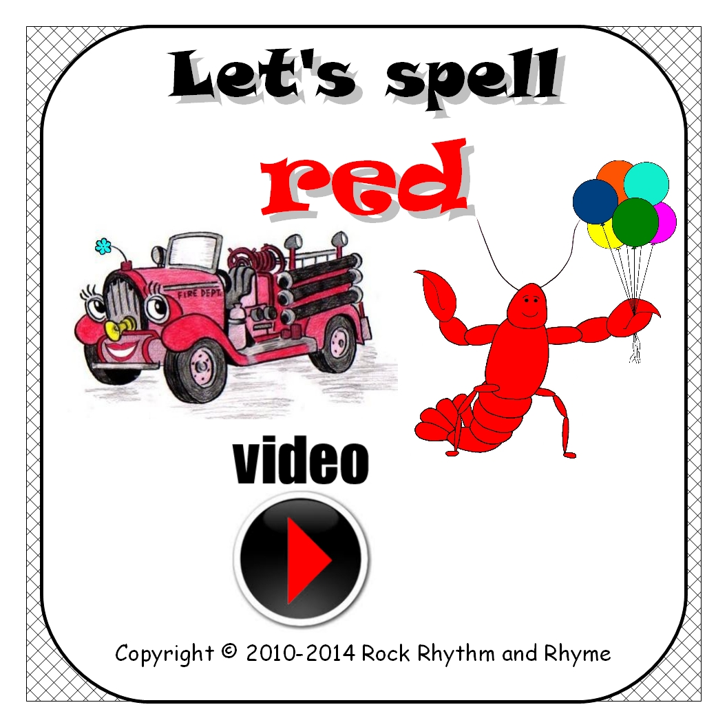 Video Let S Spell Red