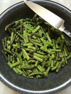 S for RattleSnake beans.