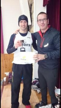 With race organiser Jon Steele