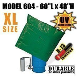 "Well Pump Pressure Tank Insulation Bag Blanket 60""L x 48""H DekoRRa 604"