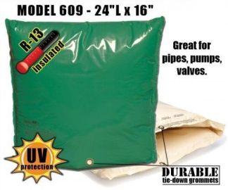 """Backflow Insulation Bag Blanket 24""""L x 16""""H DekoRRa 609 Backflow Pouch"""