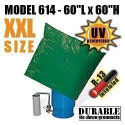 "Well Pump Pressure Tank Insulation Bag Blanket 60""L x 60""H DekoRRa 614"