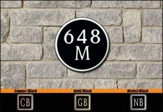 Dekorra Model 648 Personalized Address Plaque