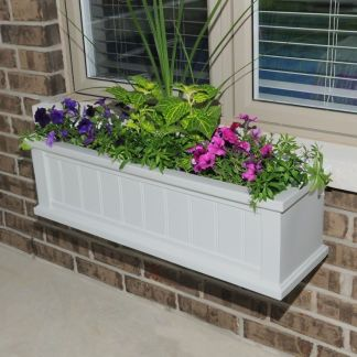 Cape Cod Model 4840 3FT Window Planter Box By Mayne