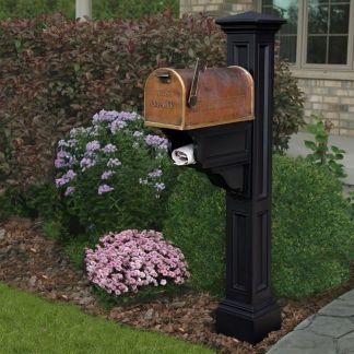 Charleston Plus Decorative Mailbox Post 5846 By Mayne