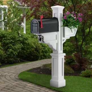 Signature Plus Mailbox Post 5808 By Mayne
