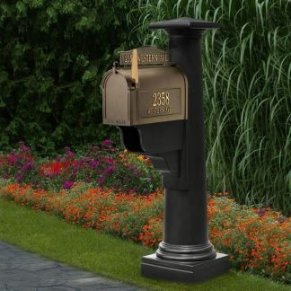 Statesville Decorative Mailbox Post 5831 By Mayne