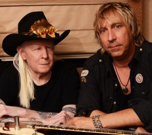 Photo of Johnny Winter 2013 by Marty Temme