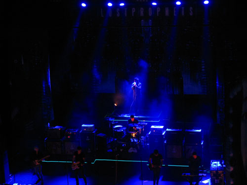 Lostprophets live at Brixton Academy