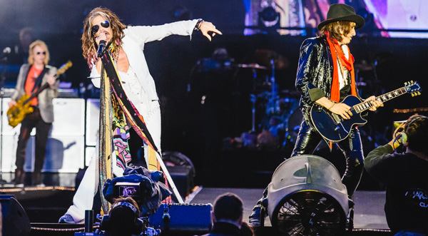 Aerosmith by Andrew Whitton at Download Festival 2014