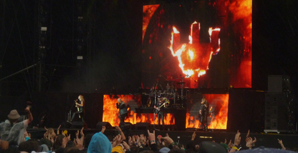 Download Festival 2015 - Judas Priest on the main stage