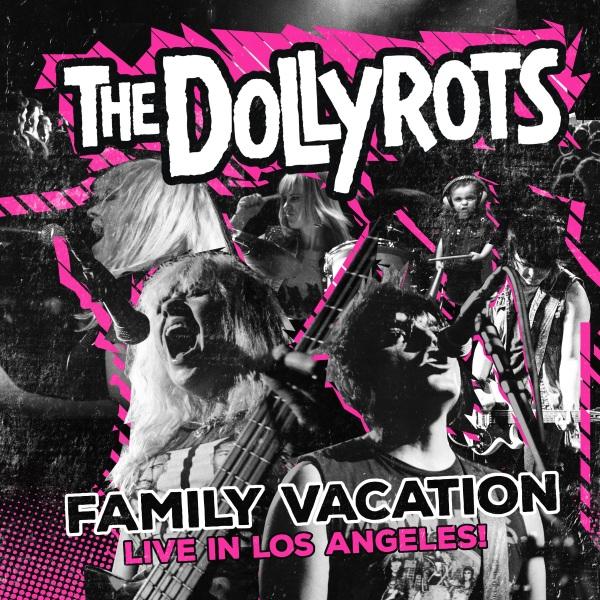 The Dollyrots Family Vacation DVD CD Artwork