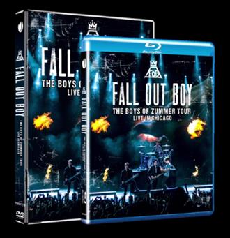 Fall Out Boy The Boys Of Zummer Live DVD Cover