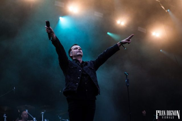 Blind Guardian On Stage At Bloodstock Open Air Festival 2017