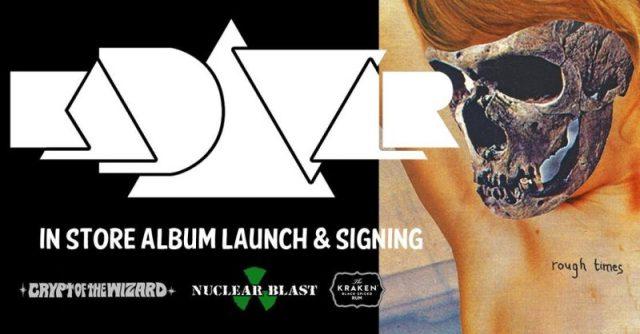 Kadavar 2017 London Album Launch Graphic