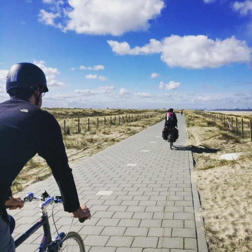 cycle path near hook of holland