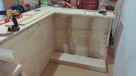 basement bar shelving, diy bar plans, home bar