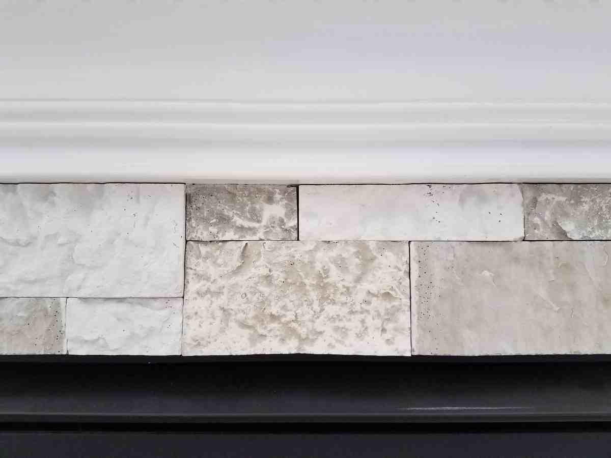 airstone birch bluff fireplace makeover