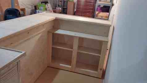 Custom Home Bar and bar cut list, diy bar plans, home bar, HOW TO BUILD A BAR