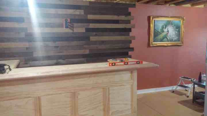 Home Bar Diy Step By Step Guide Rock Solid Rustic