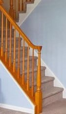 Paint or Stain Stair Railing