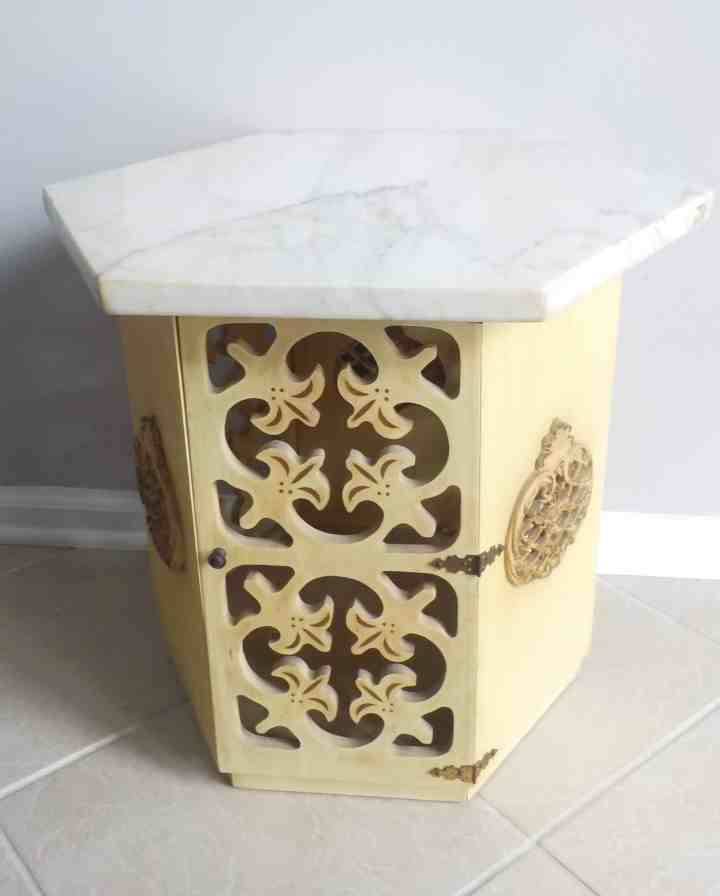 Chalk Paint Accent Table