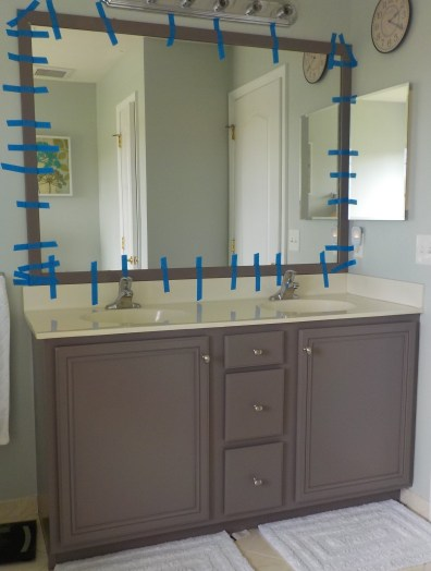 Bathroom Mirror Frame
