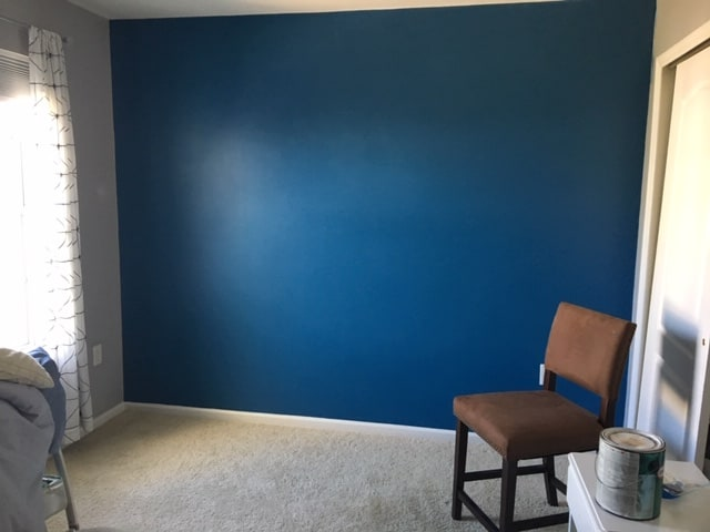 diy modern accent wall