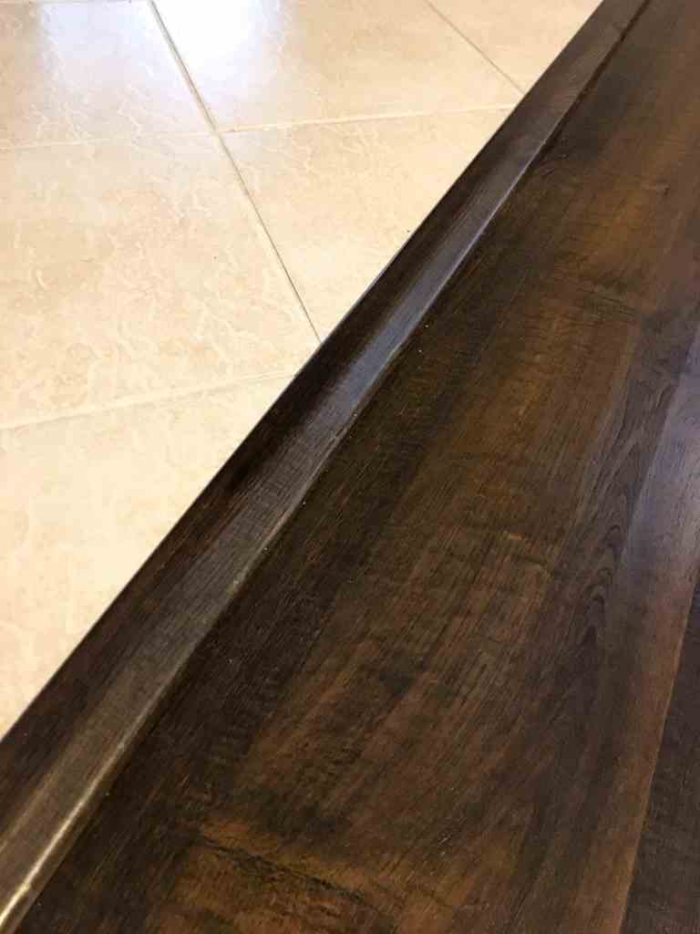 how to install pergo flooring transition strips