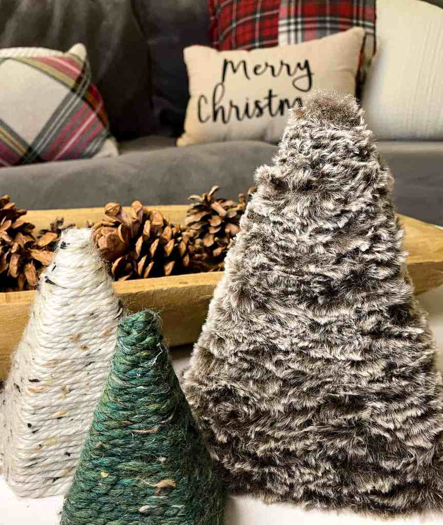 upcycled Christmas crafts,