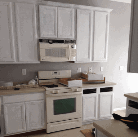 how to paint laminate cabinets, do not make these common mistakes