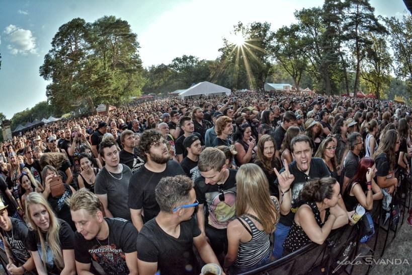 Festival Rock Heart zaplnili fanoušci do poslední mezírky.