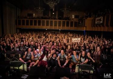 Trautenberk společné foto s fans