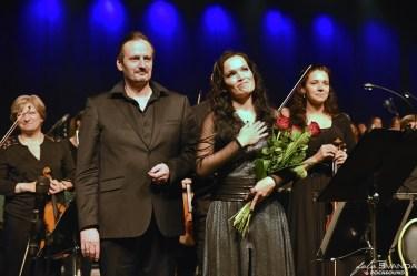 Tarja Turunen a dirigent Moravské filharmonie Olomouc