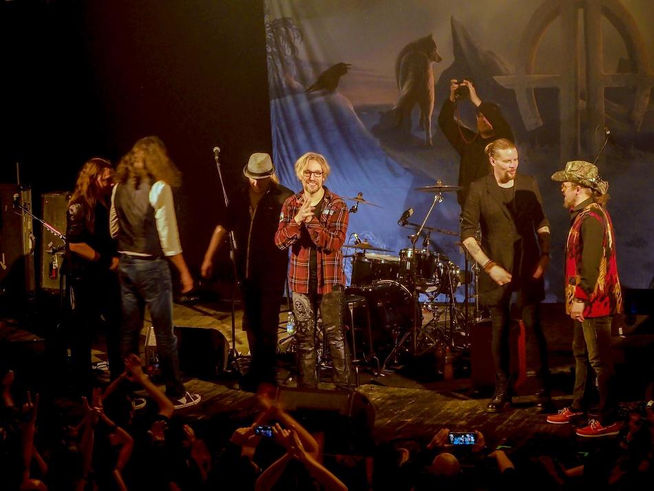 Sonata Arctica - Praha, Roxy klub 28.3.2019
