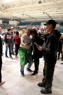 Citron_ natáčení klipu fans a Láďa Křížek s Tanjou