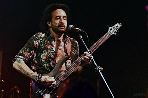 Marco Mendoza s kapelou na Melodce, Brno 2019