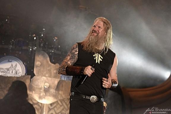 Amon Amarth, Johan Hegg, Metalfest Plzeň 2019