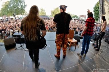 Zemětřesení, The Legends Rock Fest Hořice 2019