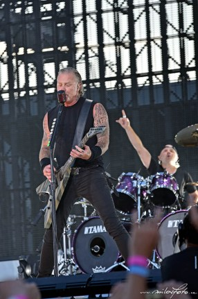 Metallica, Praha 2019, James Hetfield, Lars Ulrich