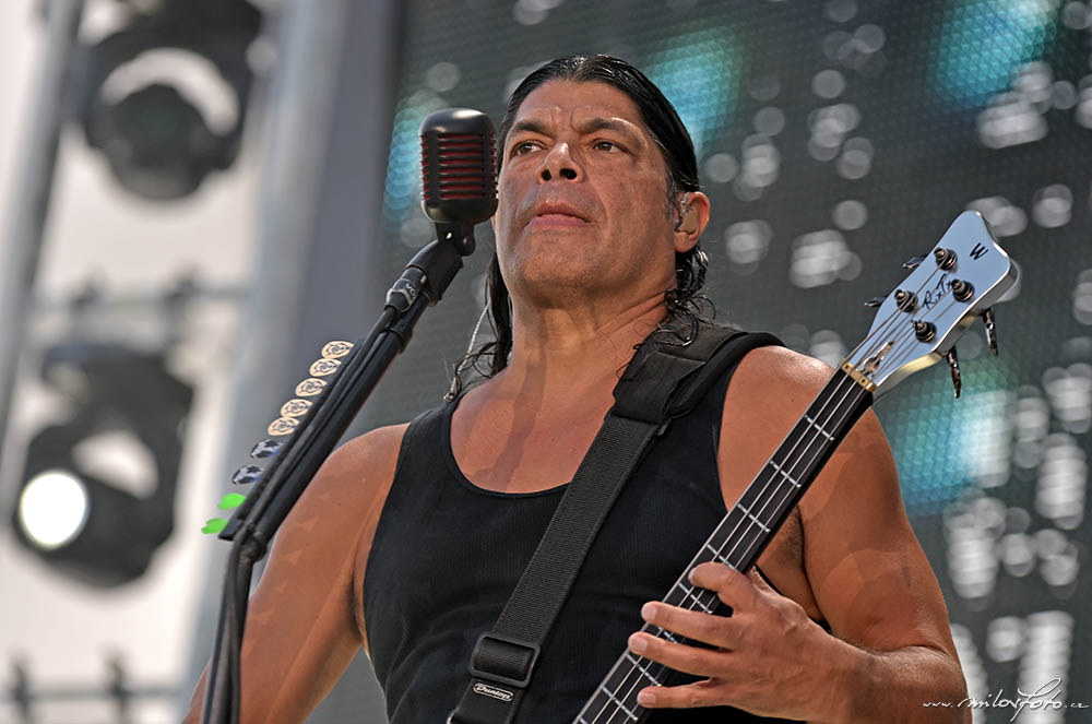 Metallica Praha 2019, Robert Trujillo
