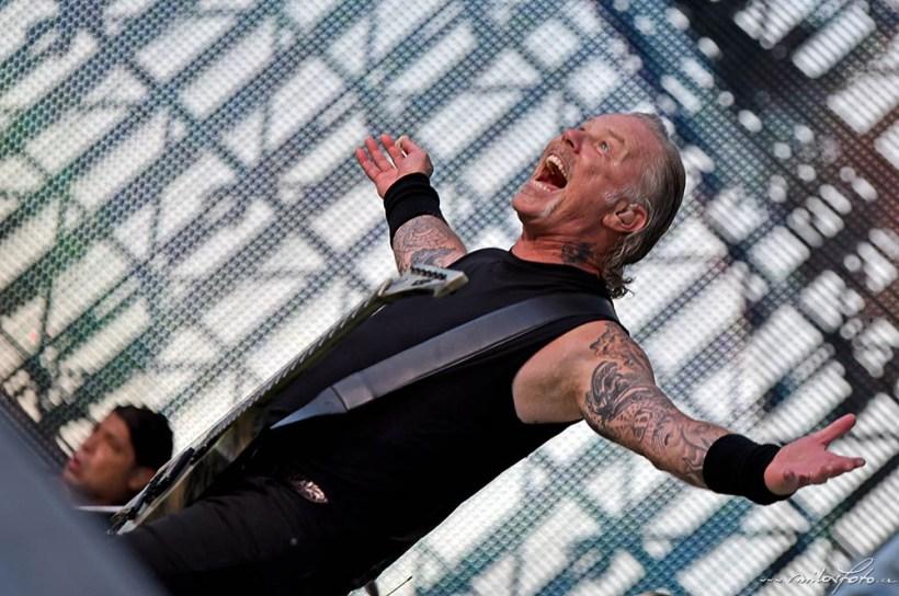 Metallica, Praha 2019, James Hetfield