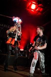 Jana Uriel Kratochvílová s kapelou Illuminati.ca