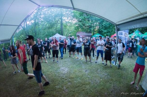 Hubertka open air show- Fans