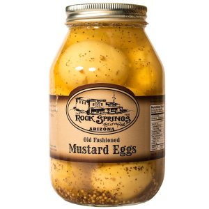 Old Fashioned Mustard Eggs