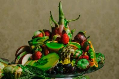Exotic Fruit Sculpture