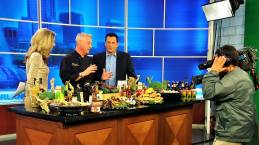 Cooking class on Fox Orlando.
