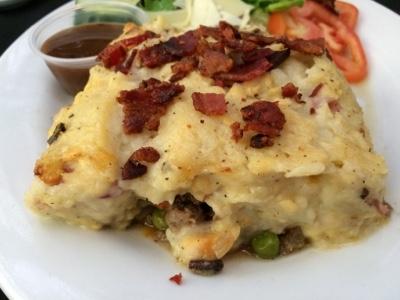Chef Bob's Gluten Free Shepherd's Pie with Smoky Bacon real Mashed Potatoes