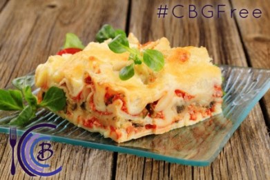 Chef Bob Gluten Free Rustic Italian Lasagna